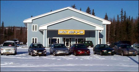 A new Arctic Rent-a-Car building to serve you better